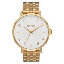 Relojes de pulsera unisex de oro blanco oro blanco