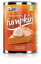 Full Case 12 x Tinned Pumpkin Pie Filling - 100% Natural - 425g Cans Baking