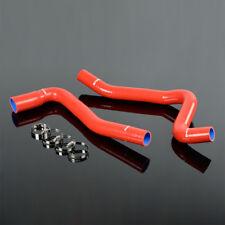 Silicone Radiator Coolant Tube Kit Fit For Chevy 77 82 Corvette V8 57l50l Fits Chevrolet