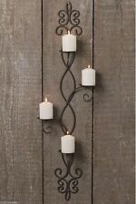 Antique Style Wall-mounted Candle & Tea Light Holders