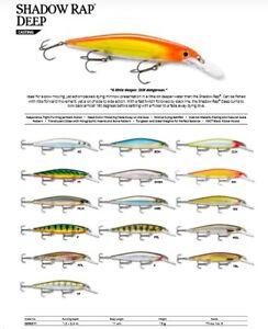 Rapala Shadow Rap Deep // SDRD11 // 11cm 13g Fishing Lures (Choice of Colors)