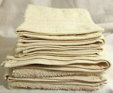 SET Ralph Lauren Hand Towel & Face Towel SET Bowery Studio Cream 5 PCS NEW
