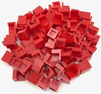 Lego 100 New Red Panel 1 x 1 x 1 Corner Pieces Parts