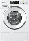 """NEW Miele Front Load Washer WWH860WCS Electric Ventless Dryer TWI180WP 24"""" White photo"""