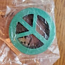 Peace Sign Heavy metal Emblem Slammer Game Piece Crafts Jewelry making GIFT ITEM