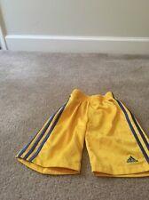 ADIDAS Boys Athletic Lined Shorts Sz 4 Clothes Multicolor