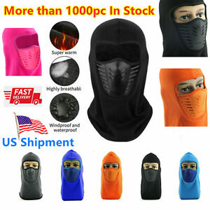 Balaclava Hat Full Face Mask Bicycle Motorcycle Cycling Camping Cap Headwear