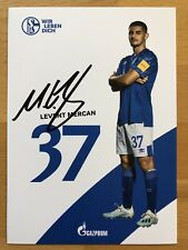 Neues AngebotLevent Mercan AK FC Schalke 04 Autogrammkarte 2019-20 original signiert