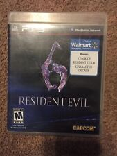 Resident Evil 6 (M) PLAYSTATION 3 (PS3) Horror (Video Game)