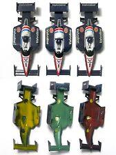 3 1991 TYCO Valvoline Toshiba #1 F1 INDY Slot Car Body Painted Plastic Test Shot