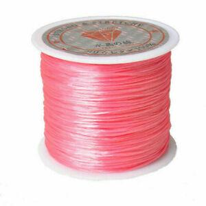 40M/Roll Stretch Elastic Cord Nylon Beading String Thread for DIY Jewelry Making