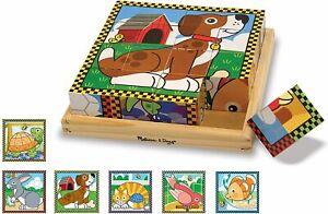 Melissa & Doug - Pets Cube Puzzle - 16pc