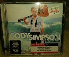 CODY SIMPSON Paradise CD Target Exclusive w/ 3 Bonus Tracks NEW SEALED