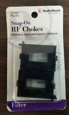 RadioShack- Snap-On RF Chokes (pkg. of 2)