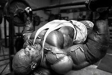 Framed Print - Bodybuilding Black & White (Picture Workout Art Schwarzenegger)