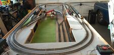More details for 00 gauge model railway layout on solid pinewood dismantable sections