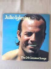 Julio Iglesias - the 24 greatest songs en espagnol - double vinyle