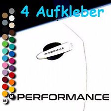 A58# Aufkleber Performance Motorsport Limited Edition Sticker Felgen Türgriff VW