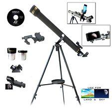 Galileo G-860BG - 800x60mm Astro Terrestrial Telescope Kit w/ SMARTPHONE ADAPTER