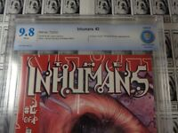 Inhumans (2000) Marvel - #2, CBCS 9.8 (NM/MT), Human Torch, Ronan Appearance
