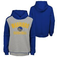 NBA Kinder Hoody Golden State Warriors Retro Block Sweater Pullover Youth
