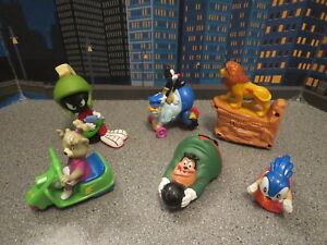 VINTAGE fast foo lot happy meal toys lion king Hanna Barbera