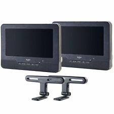 "BUSH 9"" Inch In-Car DVD car Player with Dual Screen PDVD-16309C in Black."