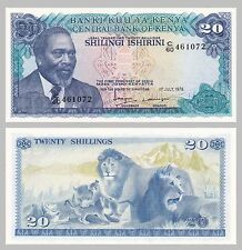 Kenia / Kenya 20 Shillings 1978 p17 unc.