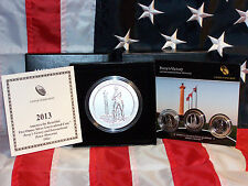 4 COIN 2013 5oz SILVER SATIN A-T-B PERRY'S VICTORY QUARTER W/ 3 pc PROOF/UNC