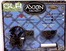 Axion GLR Gridlock Arrow Rest, Left Hand, Tactical Black