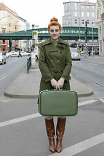 Veb Womens Fashion Berlin kremmener Str 9-11 Womens Coat Coat Green 70s True Vin.