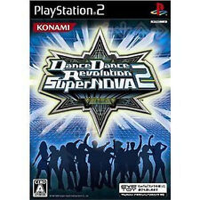 Dance Dance Revolution Super Nova 2 PS2 Import Japan