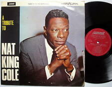 A Tribute To Nat King Cole LP England-Pressing