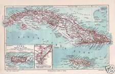 Cuba cuba la habana jamaica caribe mapa para 1905