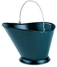 Black Fireplace Coal Hod Ash Bucket Pail - New