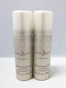 Neal & and Wolf Control Flexible Styling Hairspray 2 x 50ml Duo (Travel Size)