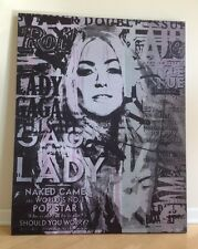 GAIL RODGERS,LADY GAGA,ORIGINAL,SIGNED,ROLLING STONE MAGAZINE,2017 SUPER BOWL LI