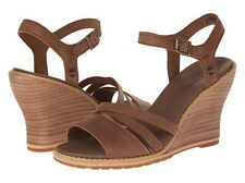 New Timberland Women,s Maeslin Ankle-Strap Wedge Sandal Sz 9.5US,41EUR