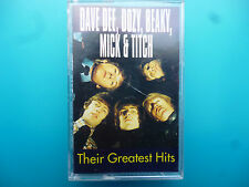 """DAVE DEE, DOZY, BEAKY, MICK & TITCH  """" THEIR GREATEST HITS """"  CASSETTE"""