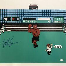 Autographed/Signed MIKE TYSON Punchout Nintendo Boxing 16x20 Photo JSA COA Auto