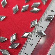 30 Strass thermocollant LOSANGE 10x5 mm (hotfix) cristal A+ qualité Bling