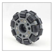 """High quality 4 inch 4"""" 100mm 360° Omni Wheel With Hub For DIY Arduino Robot Car"""