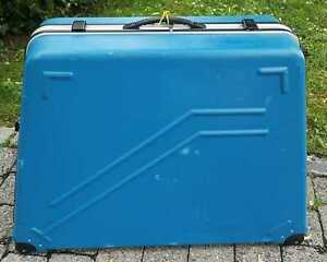 B&W Radkoffer Bike Box Fahrrad Transport Koffer gebraucht