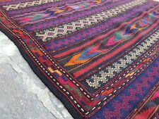 "Afghan Jaja Kilim Best Quality Tribal Kilim/oriental kilim cicim 3'6""x7'7"" ft"