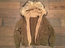 Holy Grail Of All Balmain: Decarnin Fur Hood And Shearling Bomber