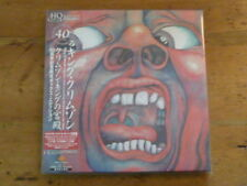King Crimson: Court of 5 Japan HQCD Mini-LP CD+1 DVD Box Set IEZP-18 KCCBX1 (Q