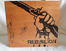 REBELLION BATTALLION WOOD CIGAR BOX - LIFT OFF LID - NICE!!