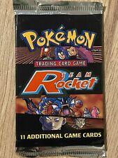 Unlimited 1999 Team Rocket Factory Sealed Pokemon Booster Box Pack Design 4