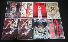 CFD / SIRIUS DAWN LINSNER AUTOGRAPHED COMIC COLLECTION LOT (9.0 - 9.2)