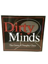 Dirty Minds - Adult Only Party Drinking After Dinner Board Game New Sealed.